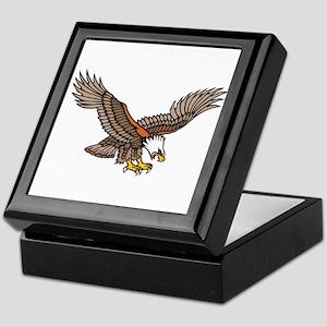 Flying Eagle Tattoo Art Keepsake Box