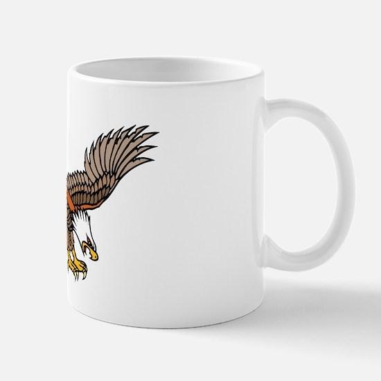 Flying Eagle Tattoo Art Mug