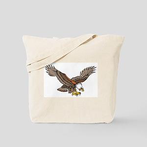 Flying Eagle Tattoo Art Tote Bag