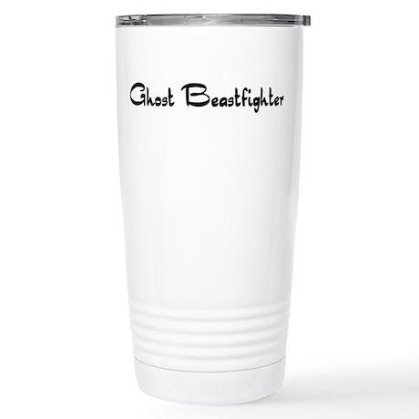 Ghost Beastfighter Stainless Steel Travel Mug