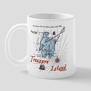 Blue Treasure Island Mug