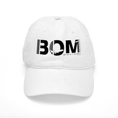 Mumbai Airport Code India Bombay BOM Baseball Cap