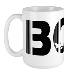 Mumbai Airport Code India Bombay BOM Large Mug