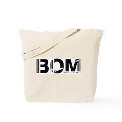 Mumbai Airport Code India Bombay BOM Tote Bag