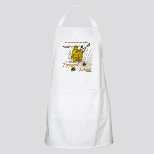 Gold Treasure Island BBQ Apron