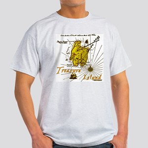 Gold Treasure Island Light T-Shirt