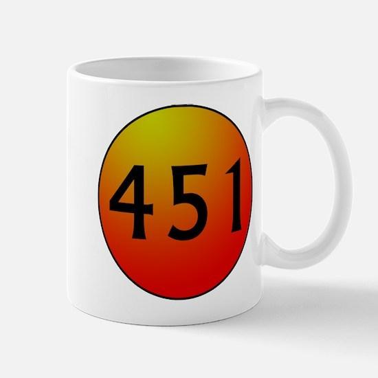 451 Fahrenheit Mug