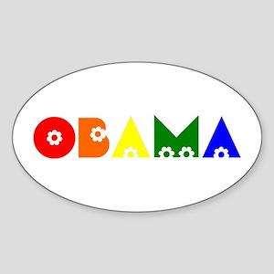 Obama Sticker (Oval)