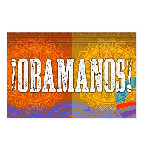 ¡Obamanos! Postcards (Package of 8)