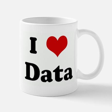 I Love Data Standard Mug