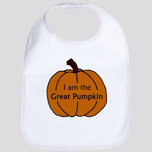 I am the Great Pumpkin Bib
