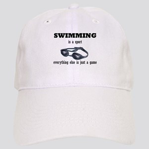 Swimming is a Sport Cap