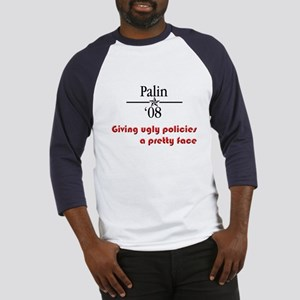 Palin ugly polcies Baseball Jersey