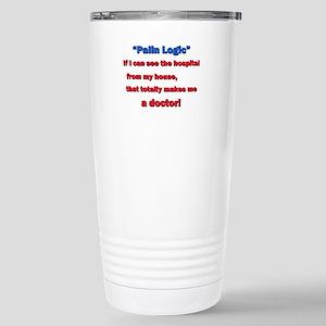 Palin Logic Stainless Steel Travel Mug
