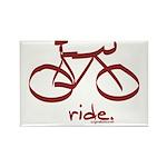 Mtn Ride: Rectangle Magnet