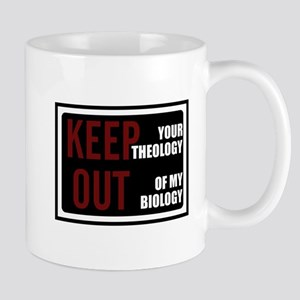 Keep Theology Out Mug
