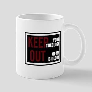 Keep Theology Out Mug