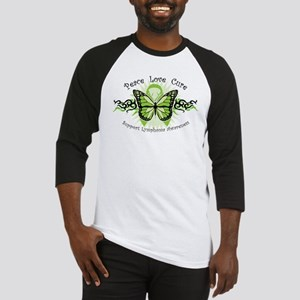 Lymphoma Tribal Butterfly Baseball Jersey