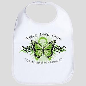 Lymphoma Tribal Butterfly Bib