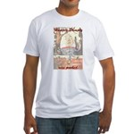 Conspiracy Theory Fitted T-Shirt