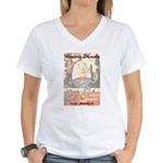 Conspiracy Theory Women's V-Neck T-Shirt