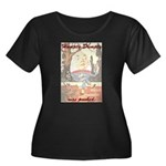Conspiracy Theory Women's Plus Size Scoop Neck Dar