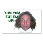 Yum Eat Em Up! Sticker