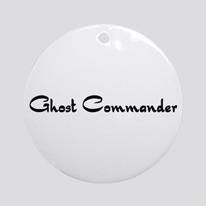 Ghost Commander Ornament (Round)