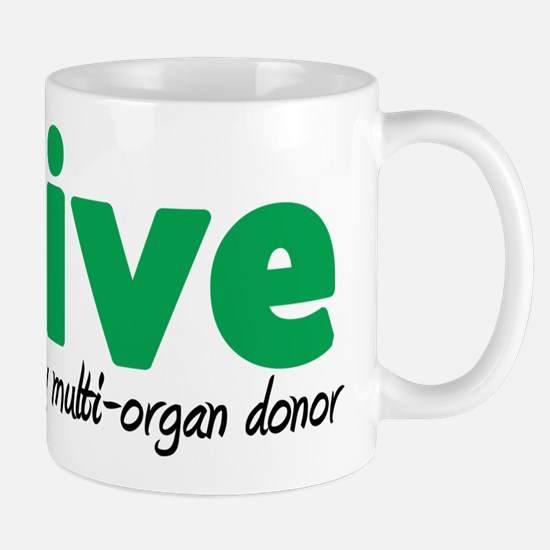 iLive Multi Organ Mug