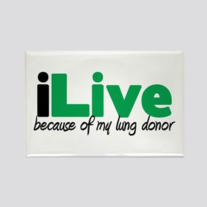 iLive Lung Rectangle Magnet