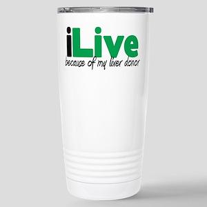 iLive Liver Stainless Steel Travel Mug