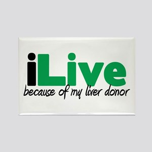 iLive Liver Rectangle Magnet