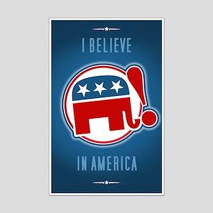 """""""I Believe in America"""" Mini-Poster"""