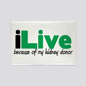 iLive Kidney Rectangle Magnet