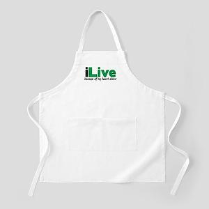 iLive Heart BBQ Apron