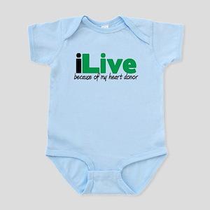 iLive Heart Infant Bodysuit