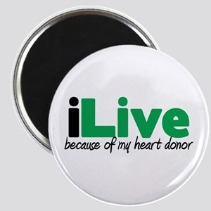 iLive Heart Magnet