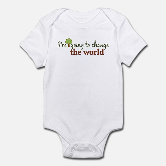 I'm Going to Change the World Infant Bodysuit