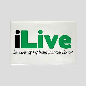 iLive Bone Marrow Rectangle Magnet