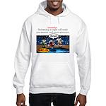Stupid Is ... Swimming Stupid Hooded Sweatshirt