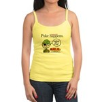 Stupid Is ... Puke Happens Jr. Spaghetti Tank