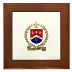BLANCHARD Family Crest Framed Tile