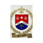 BLANCHARD Family Crest Rectangle Magnet