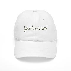 Just Scrap2 Baseball Cap