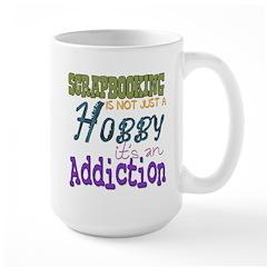 Addiction Large Mug
