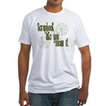 Scrapbook like you mean it Fitted T-Shirt