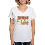 Love to Women's V-Neck T-Shirt