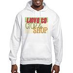 Love to Hooded Sweatshirt