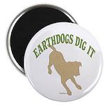 Earthdogs Dig It Magnet