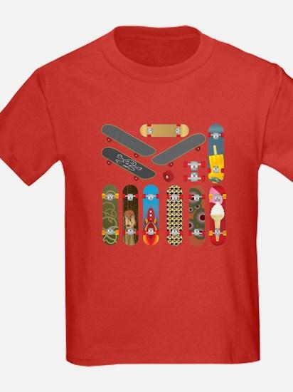 2-skateboards T-Shirt
